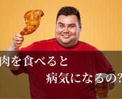 肉食べ過ぎ病気