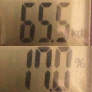 MEC食ダイエット100日目体重