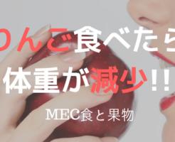 MEC食果物りんご