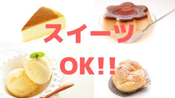 MEC食ケーキプリンアイスクリーム